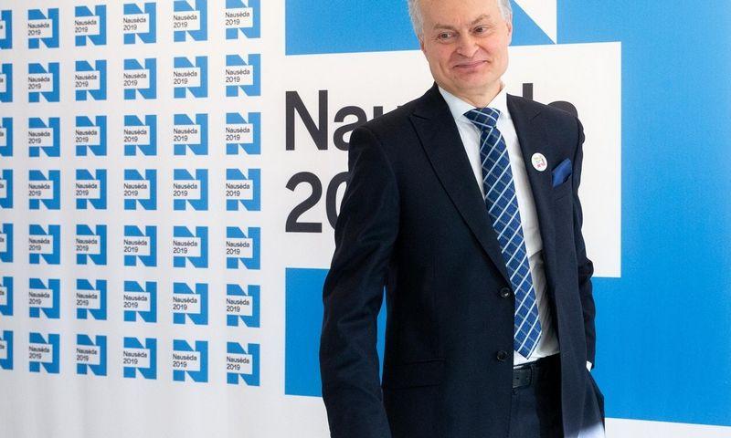 Gitanas Nausėda laimėjo prezidento rinkimus. Juditos Grigelytės (VŽ) nuotr.