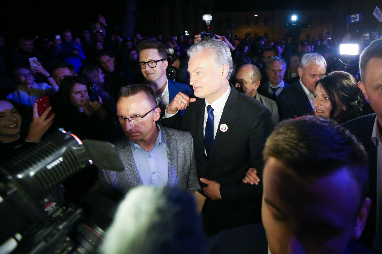 Kas padėjo G. Nausėdai laimėti rinkimus