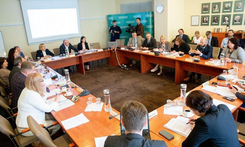 Trišalės tarybos posėdis. Juditos Grigelytės (VŽ) nuotr.
