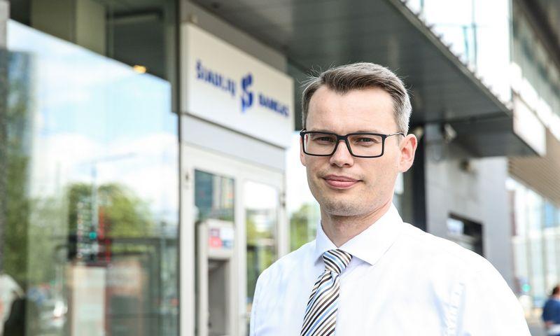 Ramūnas Dešukas, Šiaulių banko Probleminių aktyvų departamento direktorius. Vladimiro Ivanovo (VŽ) nuotr.