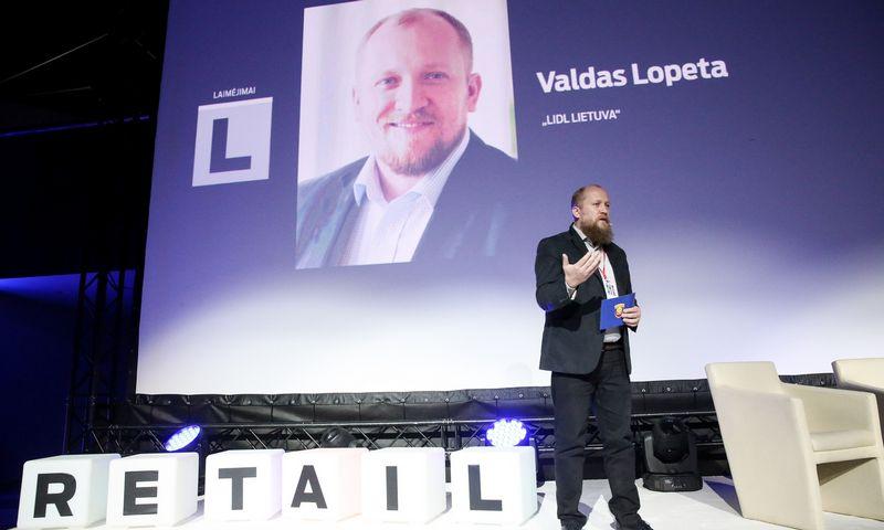 """Valdas Lopeta, """"Lidl Lietuvos"""" korporatyvinių reikalų ir komunikacijos departamento vadovas. Vladimiro Ivanovo (VŽ) nuotr."""