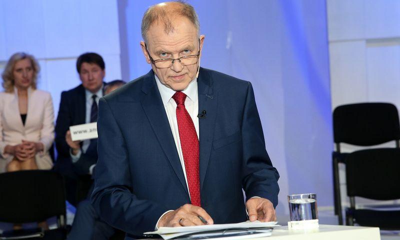 Dabartinis Lietuvos deleguotasis Europos Komisijos narys Vytenis Andriukaitis darbą baigs rudenį. Vladimiro Ivanovo (VŽ) nuotr.
