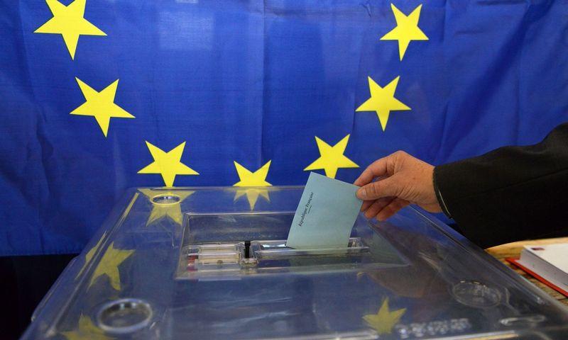 "Europos Parlamento rinkimai. Allili Mourad (""SIPA""/""Scanpix"") nuotr."