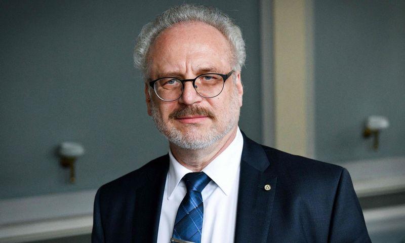 Teisininkas Egilas Levitas, kuriam netrukus sukaks 64-eri, išrinktas naujuoju Latvijos prezidentu. Ilmars Znotinš (AFP/Scanpix) nuotr.
