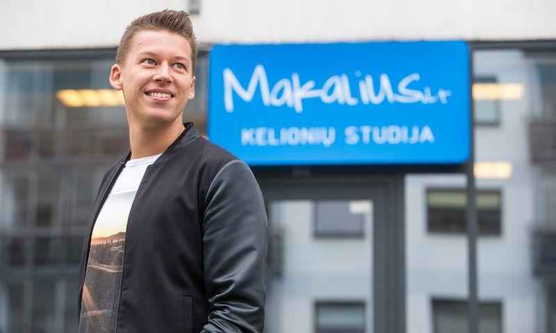 """Rimvydas Širvinskas-Makalius, UAB """"Traveldeals LT"""" direktorius: """"Šie metai turėtų parodyti, kurie organizatoriai yra stipriausi ir išliks rinkoje, nes rinka yra perpildyta."""" Vladimiro Ivanovo (VŽ) nuotr."""
