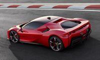 """""""Ferrari"""" pristatė savo galingiausią automobilį – hibridinį """"SF90 Stradale"""""""