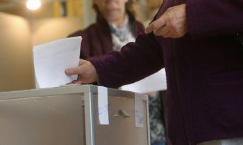 Prezidentas ir EP nariai išrinkti, konstatavo VRK