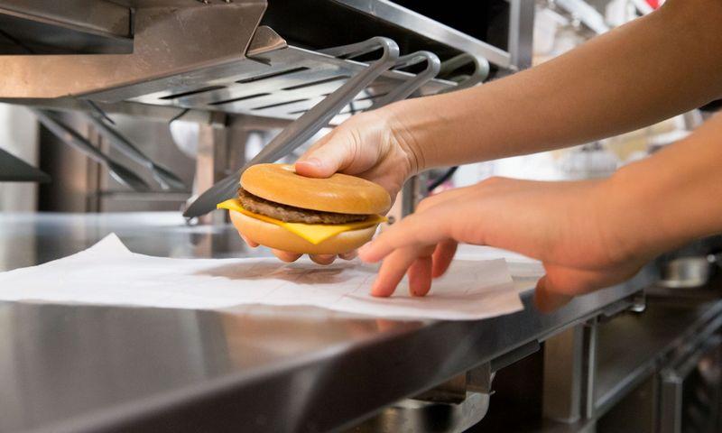 """Greitojo maisto restoranų tinklas """"McDonald's"""". Juditos Grigelytės (VŽ) nuotr."""