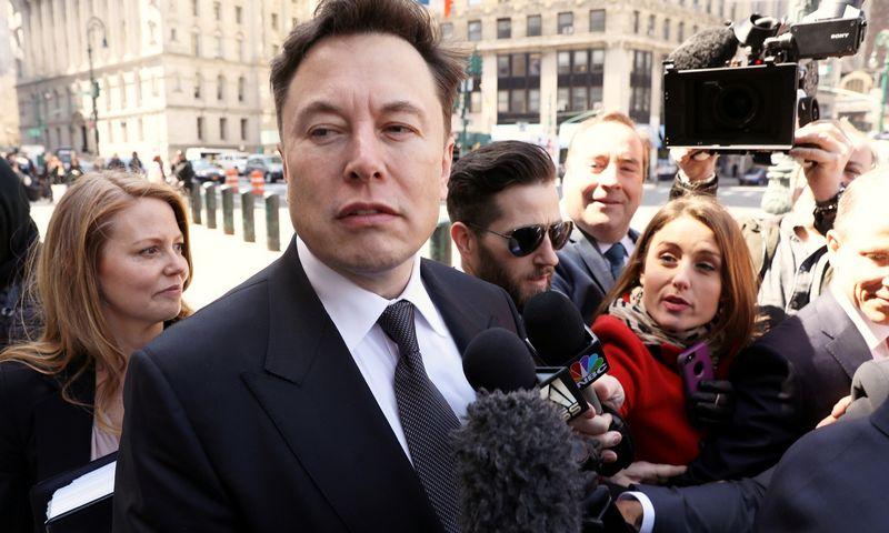 """Elonas Muskas. """"Reuters""""/""""Scanpix"""" nuotr."""