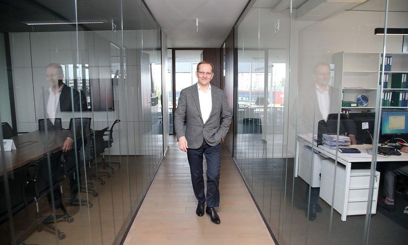 """Arūnas Šlenys, statybos bendrovės UAB """"Naresta"""" generalinis direktorius. Vladimiro Ivanovo (VŽ) nuotr."""