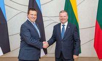 Lietuvos ir Estijos premjerai derina energetikos sinchronizavimo veiksmus