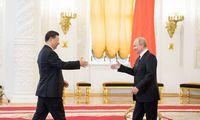Kinija ir Rusija stiprina prekybos ryšius