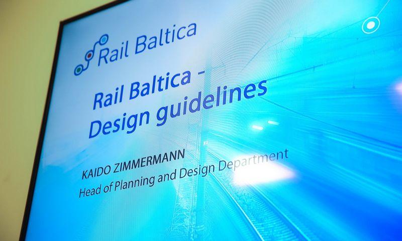 """Rail Baltica"" projektavimo gairių pristatymas Vilniue. Vladimiro Ivanovo (VŽ) nuotr."