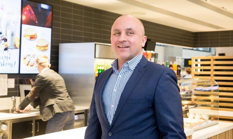 """Vladimiras Janevskis, """"McDonald's generalinis direktorius Baltijos šalyse. Juditos Grigelytės (VŽ) nuotr."""