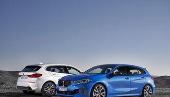 1-oji BMW serija – jau su priekinių ratų pavara
