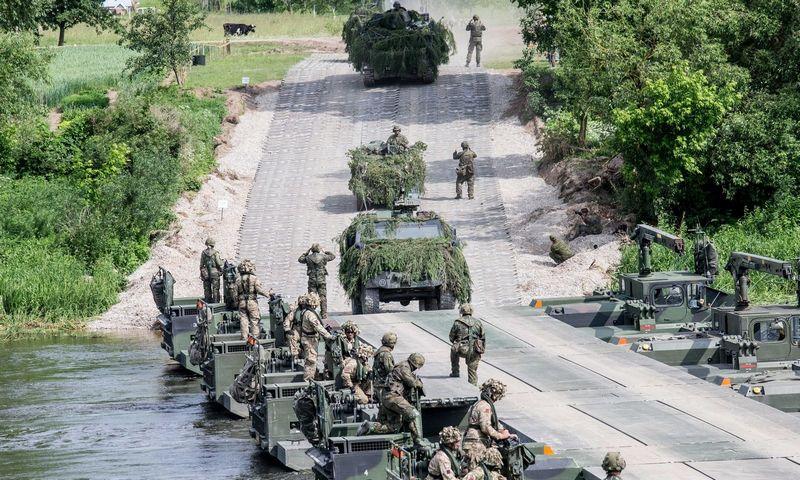"""NATO pratybos """"Geležinis vilkas 2017"""". Juditos Grigelytės (VŽ) nuotr."""