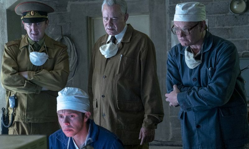 "Kadras iš serialo ""Černobylis"". HBO nuotr."