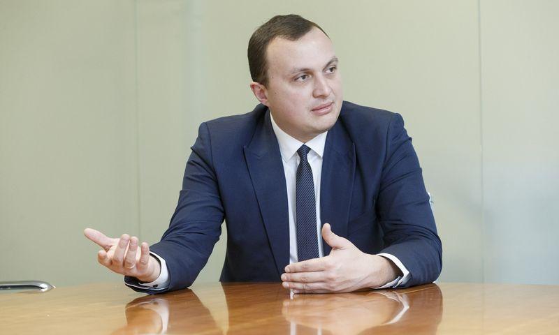 Erikas Bėrontas. Juditos Grigelytės (VŽ) nuotr.