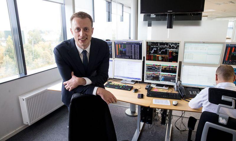"""Tadas Peciukevičius, """"SEB investicijų valdymas"""". Vladimiro Ivanovo (VŽ) nuotr."""