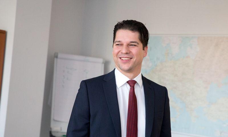 """AB """"Litgrid"""" generalinis direktorius Daivis Virbickas. Juditos Grigelytės (VŽ) nuotr."""