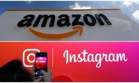 """""""Amazon"""" – vertingiausias, """"Instagram"""" – labiausiai augęs"""