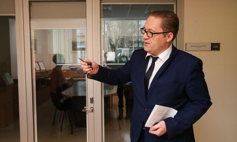 """Aurimas Pautienius-Želvys, LVPA direktorius: """"Populiariausios specializacijos kryptys – medienos ir metalo gaminių gamyba, maisto pramonė."""" Vladimiro Ivanovo (VŽ) nuotr."""