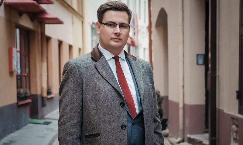 """Vytautas Karalevičius, vienas iš """"SpectroCoin"""" įkūrėjų. Įmonės nuotr."""