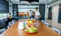 Naujas NFQ biuras Vilniuje: nuo erdvėsdidžėjams iki ypatingo oro klimato