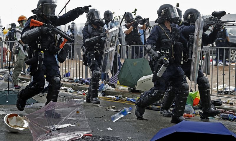 "Honkongas. Vincento Yu (""Reuters"" / ""Scanpix"") nuotr."