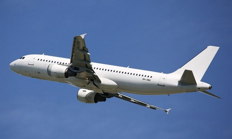 """Pirmasis Maltoje registruotas """"Avion Express"""" lėktuvas Airbus A320"""". Įmonės nuotr."""