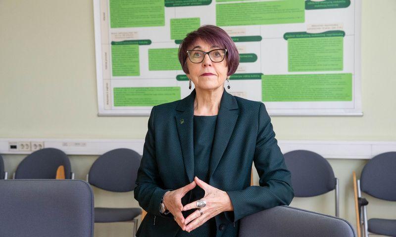 Stasė Aliukonytė-Šnirienė. VMI  Mokestinių prievolių departamento direktorė. Juditos Grigelytės (VŽ) nuotr.