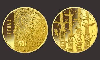 Išleista Lietuvos Laisvės Kovos Sąjūdžiui skirta moneta
