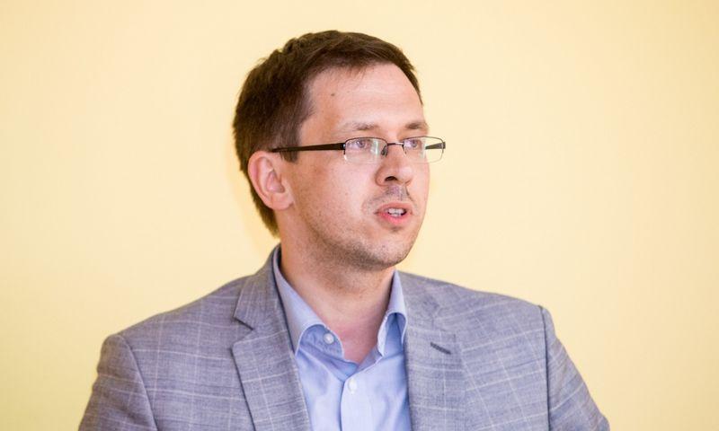 Joris Gintilas, buvęs Civilinės aviacijos administracijos vadovas. Juditos Grigelytės (VŽ) nuotr.