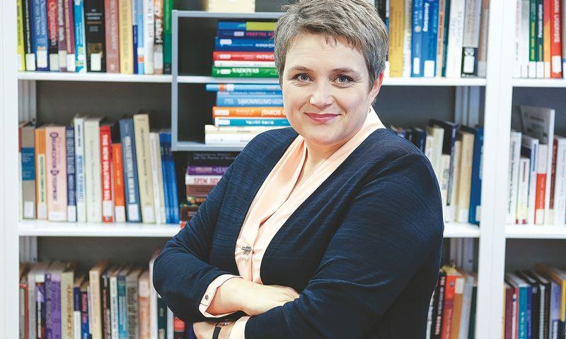 """Jūratė Žalienė, """"OVC Consulting"""" vyriausioji konsultantė. Vladimiro Ivanovo (vŽ) nuotr."""