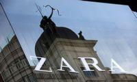 """""""Zaros"""" savininkei """"Inditex"""" plėtra garantavo rekordinius pardavimus"""
