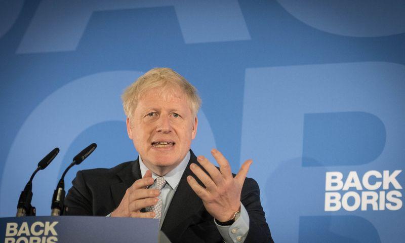 """Borisas Johnsonas. (""""Reuters"""" / """"Scanpix"""") nuotr."""