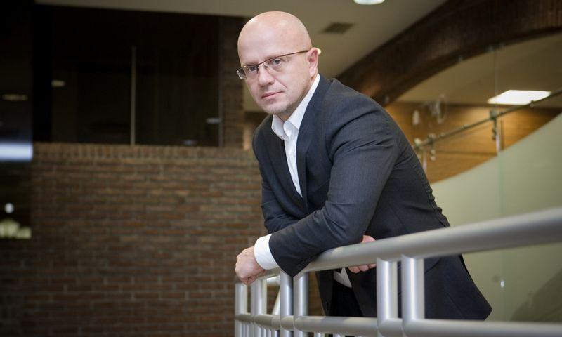"""""""Publicum"""" valdybos pirmininkas Ričardas Jarmalavičius. Vladimiro Ivanovo (VŽ) nuotr."""