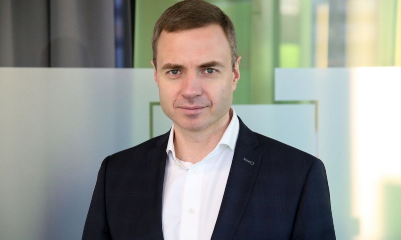 "Virgilijus Mirkės, UAB ""Revolut Bank"" vadovas. Vladimiro Ivanovo (VŽ) nuotr."