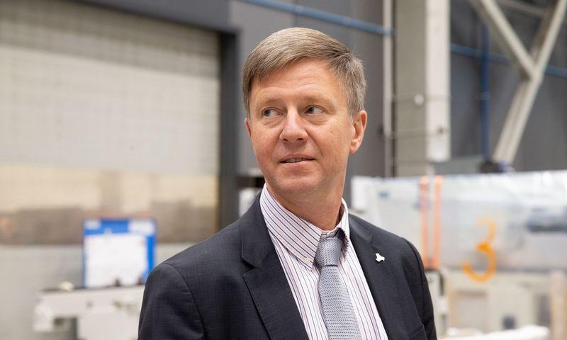"""Darius Lasionis, Lietuvos inžinerinės pramonės asociacijos (""""Linpra"""") direktorius: """"Vokietijos ekonomikai stojant, kaina tampa vienu svarbiausių konkurencingumo veiksnių."""" Juditos Grigelytės (VŽ) nuotr."""