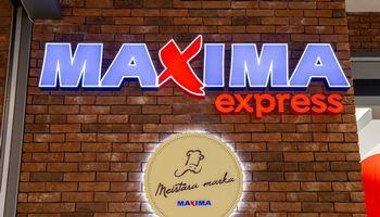 """Registruoja """"Maxima Express"""" prekės ženklą"""