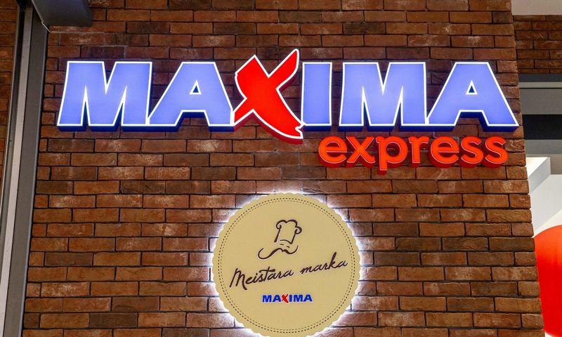 """""""Maxima"""" Rygoje atidarytame prekybos ir pramogų centre """"Akropole"""". Juditos Grigelytės (VŽ) nuotr."""