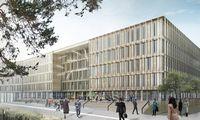 """""""Eastnine"""" Rygoje planuoja pastatyti verslo centrą iš medžio"""