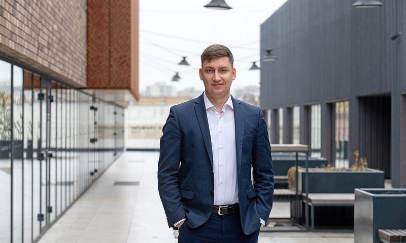 Aurimas Levickas, verslininkas, investuotojas. Juditos Grigelytės (VŽ) nuotr.