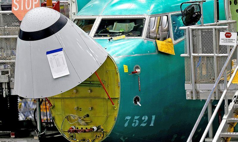 """""""Boeing"""" dirba prie skrydžio valdymo sistemos atnaujinimo, kuris turėtų užtikrinti orlaivių saugumą. Lindsey Wasson (""""Reuters"""" / """"Scanpix"""") nuotr."""
