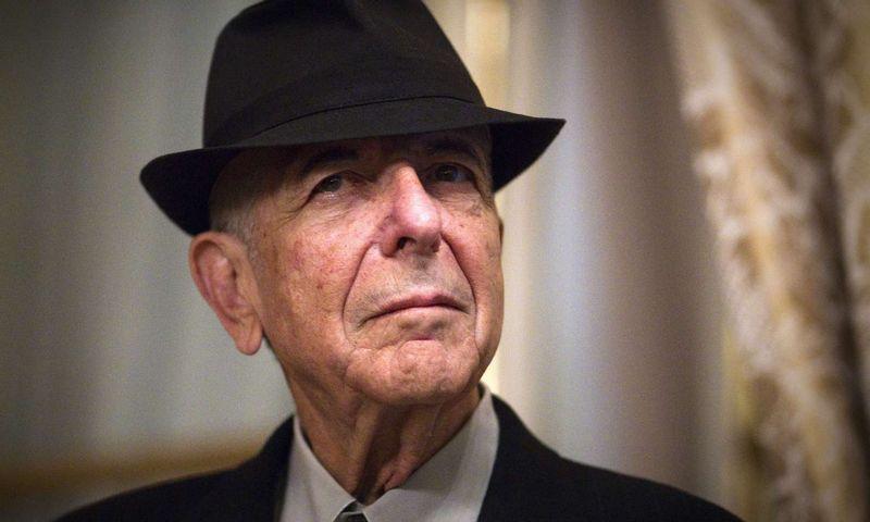 """Leonardas Cohenas buvo tas žmogus, kuris formavo nuomonės formuotojų nuomonę. Joelio Sageto (""""Scanpix"""") nuotr."""