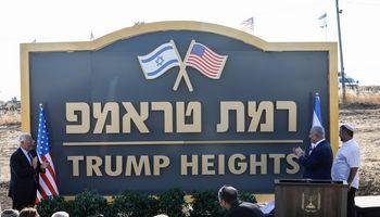 B. Netanyahumeilikauja D. Trumpui – pavadinomiestą jogarbei