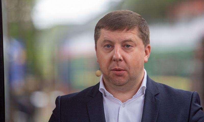 "Egidijus Lazauskas, ""LG Cargo"" vadovas. Josvydo Elinsko (""15min.lt"") nuotr."