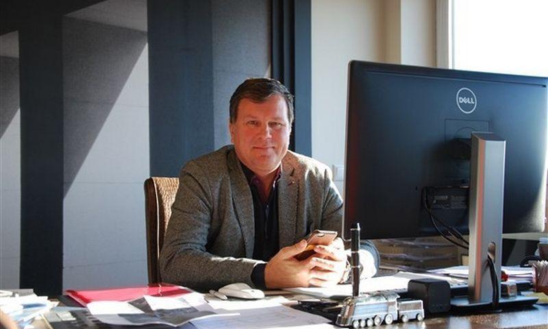 """Arūnas Tuma, """"Kamineros grupės"""" valdybos pirmininkas. Mildos Ancevičės (VŽ) nuotr."""