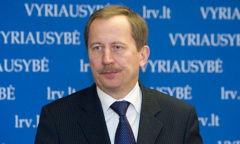Deividas Matulionis, Vyriausybės vicekancleris. Juditos Grigelytės (VŽ) nuotr.