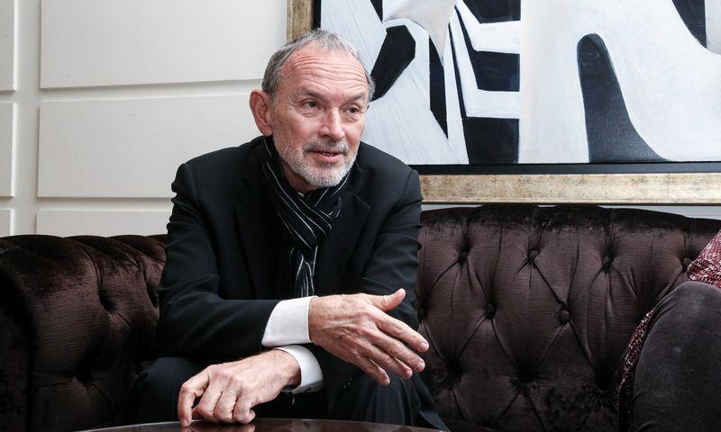 Investuotojas, advokatas Marius Jakulis Jasonas, MJJ paramos fondo steigėjas. Vladimiro Ivanovo (VŽ) nuotr.
